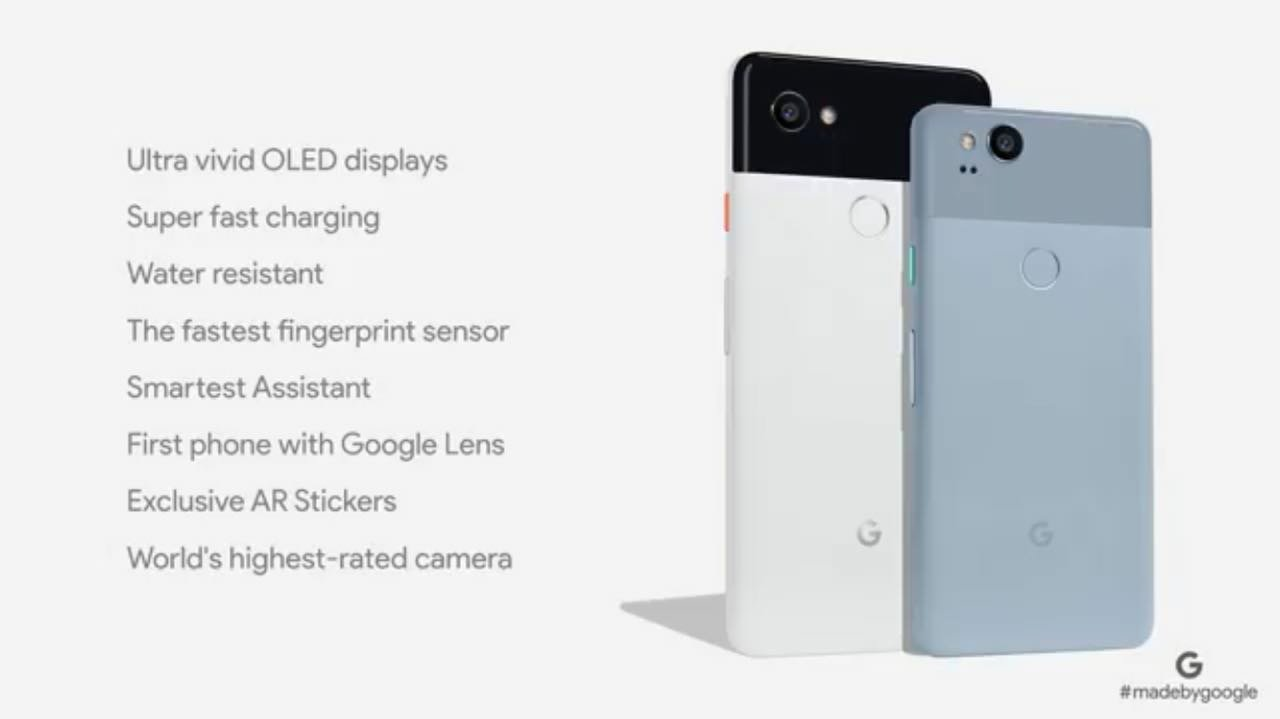 Google Pixel 2 Announced With 5-inch Screen And Snapdragon 835