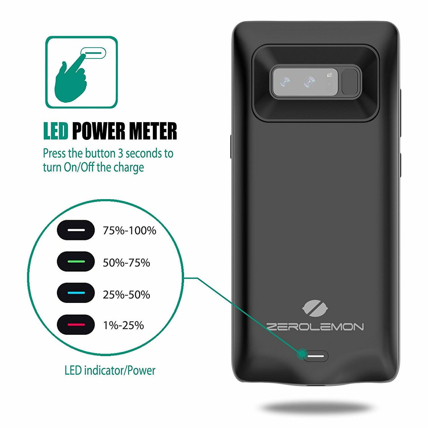 ZeroLemon Debuts its 5500mAh Battery Case for Samsung Galaxy Note 8
