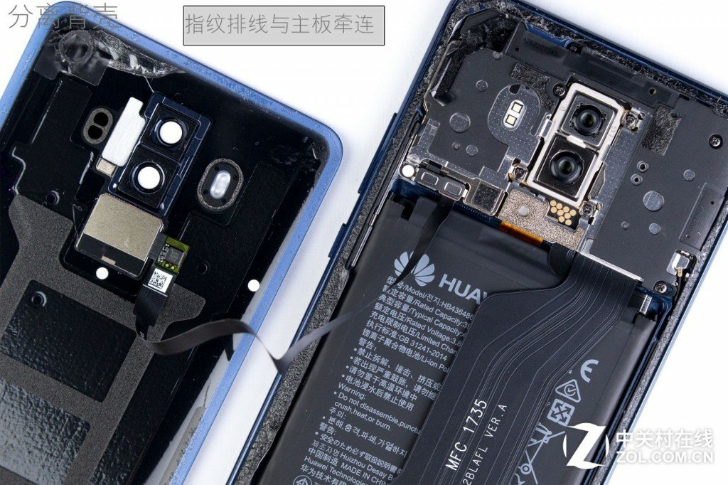 Huawei Mate 10 and Mate 10 Pro Disassembled In China