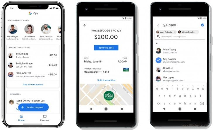 Google Pay Now Supports Boarding Passes, Event Tickets, And Money Transfers From Friends