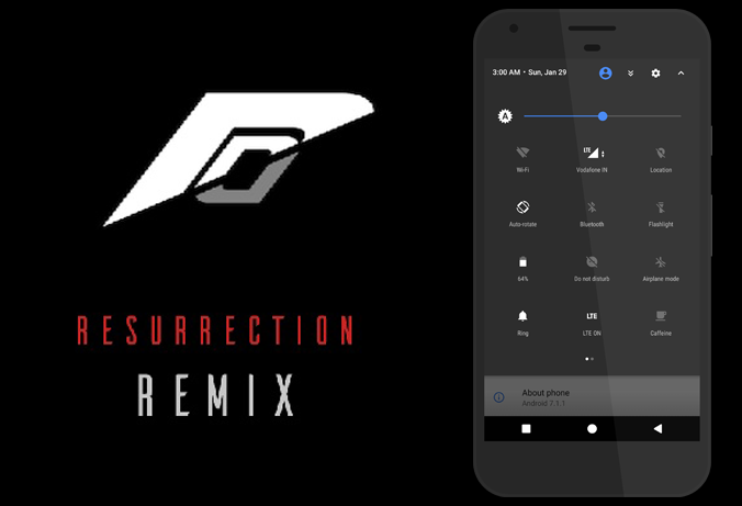 Resurrection Remix For BQ Mobile BQ-5000L Trend