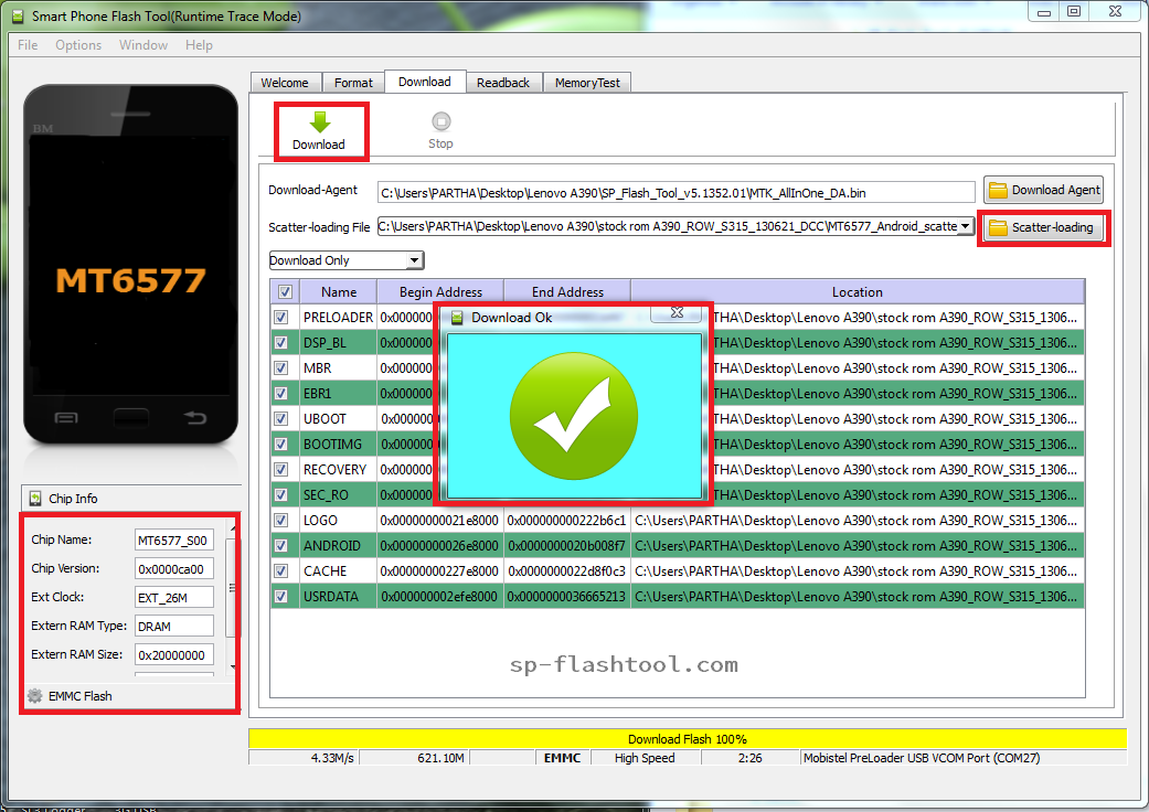 How to Install Stock Firmware Using SP Flash Tool