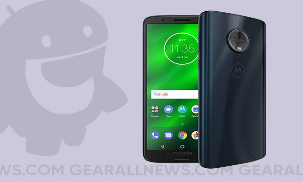 Android 10 on Motorola Moto G6 Plus