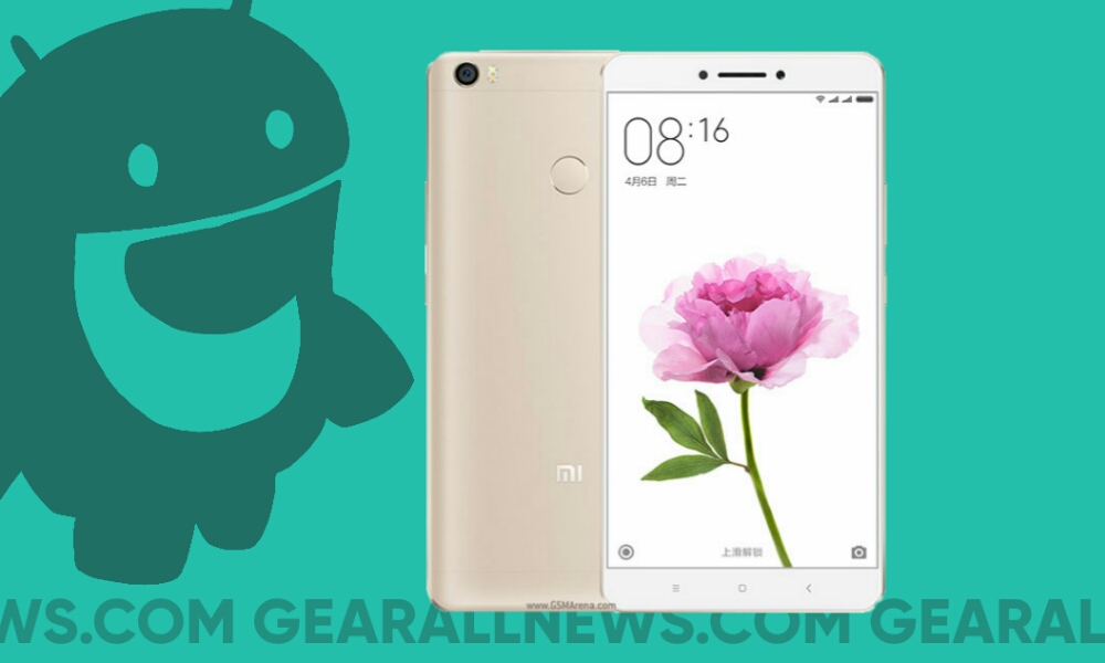 AOSIP Andriod 9 on Xiaomi Mi Max Prime