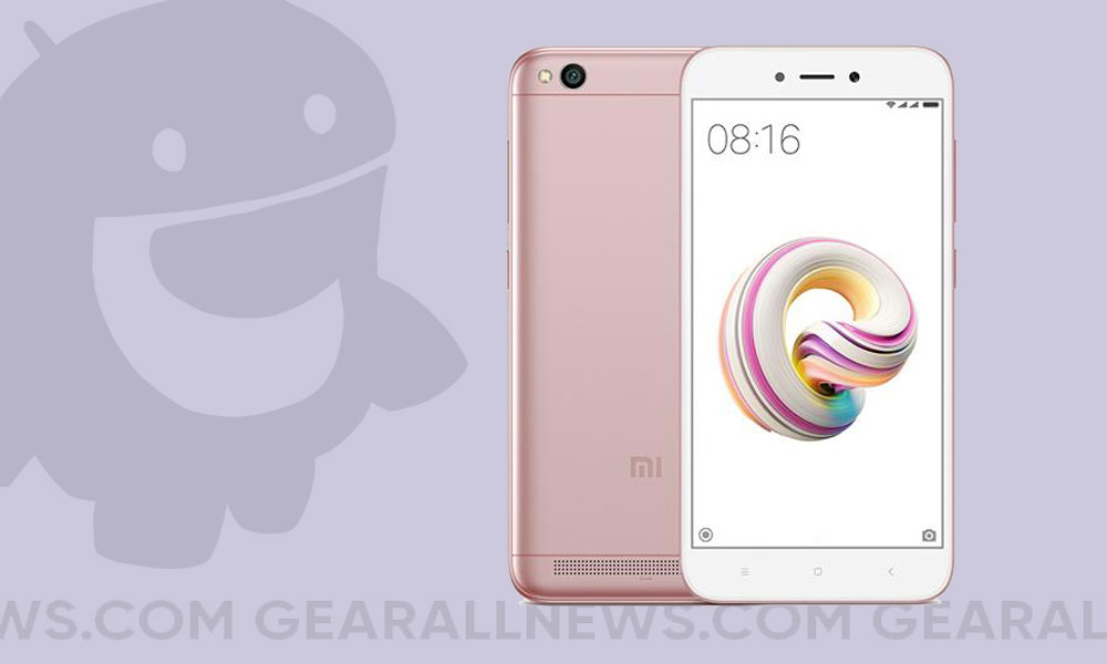 Android 10 on Xiaomi Redmi 5A