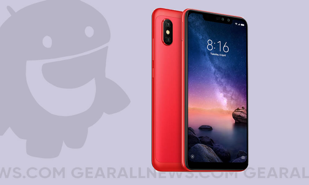 Android 10 on Xiaomi Redmi Note 6 Pro